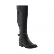 Women's Madeline Taken Wide Knee High Boot Black Synthetic