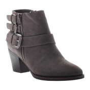 Women's Madeline Girl Sweetie Pie Ankle Boot Pewter Textile