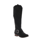 Women's Madeline Big Deal Riding Boot Black Synthetic