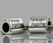 Forever Together Women's Charm Bead suitable for Pandora Jewellery or similar 100% 925 Sterling Silver