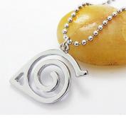 Yozone Jewellery Naruto - Leaf Symbol Logo Pendant Necklace