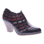 Women's L'Artiste by Spring Step Brilliance Bootie Black Multi Leather