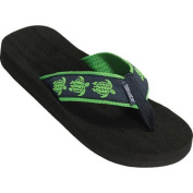 Women's Tidewater Sandals Sea Turtle Navy/Green