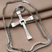 The Fast and the Furious Dominic Toretto's CROSS PENDANT Chain Necklace