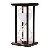 MyLifeUNIT Wood Hourglass Sand Timer for Kitchen Office School, 60 Minute
