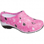 Women's AnyWear Exact Slip Resistant Clog All About Love