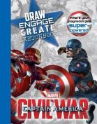 Marvel Captain America Civil War Draw Engage Create Sketchbook