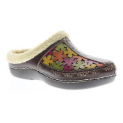 Women's L'Artiste by Spring Step Woodbine Clog Brown Multi Leather