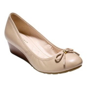 Women's Cole Haan Tali Grand Lace Wedge 40 Maple Sugar