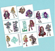 Ever After High Temporary Tattoos - 1 Sheet, 8 Sqaures
