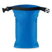 Waterproof small bag PVC - royal blue
