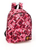 Manchester United Official Large Backpack Red