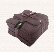 Towel Bale 10 Piece Set 500 GSM Egyptian Cotton by Highliving