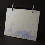 Baby Boy, New Baby, Photo Album - Blue Animal Icons