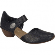 Women's Rieker-Antistress Mirjam 43711 Black Leather