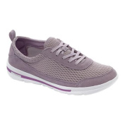 Women's Rockport XCS Rock On Air Comfort Sneaker Dusty Lilac Suede/Mesh Washable