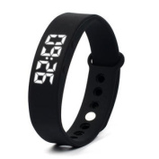 W5 Pedometer Sleep Monitor Temperature Bracelet Smart Watch