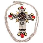 `The Rose Cross` Pendant / Necklace Golden Dawn