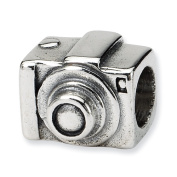 Sterling Silver Reflections SimStars Camera Bead Charm