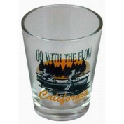 California Shotglass- Go With The Flow Case Pack 96