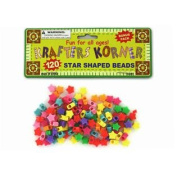 Star Shaped Crafting Beads Set of 72