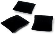 Jewellery Display Pillows 8.3cm X 8.3cm X 2.5cm 3/Pkg-Black