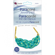 Paracord Kit-Teal Necklace