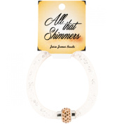 All That Shimmers Readymade Bracelets-Creme