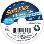 Soft Flex Wire 49-Strand .48cm X 10-Silver