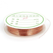 Copper Tone Jewelery Craft Bead Wrapping Coppery Beading Wire Strand 26 Gauge