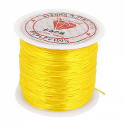 Elastic Making Beading Jewelery Bracelet Necklace Thread Cord String Yellow