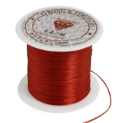 Pendant Jewellery Beading Thread Stretchy Crystal Line Cord Spool Red 9M