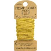 Hemp Cord 20# 6.1m/Pkg-Yellow