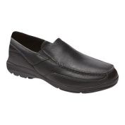 Men's Rockport City Play Two Slip On Black Leather