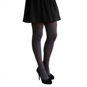 Coquettes Silky Opaque Light Control Top Fumo Tights