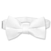 BOY'S BOWTIE Solid WHITE Colour Bow Tie