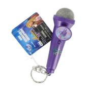 Disney Hannah Montana Mini Recordable Microphone Keychain