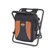 Harley Davidson Backpack Cooler Seat, Black, One Size