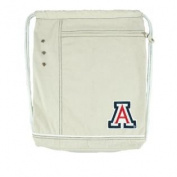 NCAA Arizona Wildcats Old School Cinch Backpack, Brown
