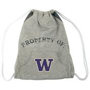 NCAA Washington Huskies Hoodie Cinch Backpack, 36cm x 43cm , Grey