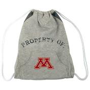 NCAA Minnesota Golden Gophers Hoodie Cinch Backpack, 36cm x 43cm , Grey