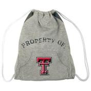 NCAA Texas Tech Red Raiders Hoodie Cinch Backpack, 36cm x 43cm , Grey