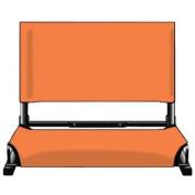 Markwort WSC1-RD Deluxe Wide Model Patented Stadium Chair, Orange
