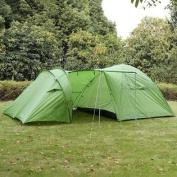 GHP 3 to 4 Person Outdoor Quick Camping/Hiking Tent w Large Room and Living Room