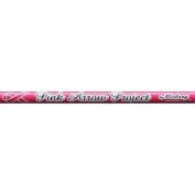 Victory Archery V3 Pink 450 Raw Unfletched Shafts