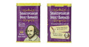 Accoutrements Shakespearean Insult Bandages - 2 Tin Packs