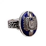 Koly Vintage Vampire Diaries Salvatore Damon Stefan Finger Family Crest Ring