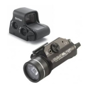 EOTech Transverse Red Dot Sight, Circle 2-Dot Reticle XPS3-2 w/ Streamlight TLR-