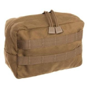 TAC SHIELD Horizontal Gp Utility Molle Pouch, Coyote