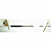 DU-BRO Fishing Tournament Rod Holder for Shimano TLD-20 2-Speed Reel, Gold/Black